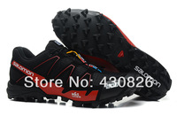 Free Shipping 2014 New Salomon S-LAB FELLCROSS 2 Men's Running Shoes,Top Quality Genuine Leather Male Hiking Shoes,Size 40-45