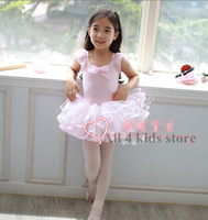 Falling ballet one piece dress Girls clothes Children's costumes / dance costumes / dance skirt / children clothes 3-7y