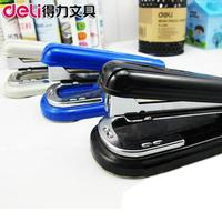 Deli stationery deli stapler lackadaisical 0828 stapler 12 stapler supplies