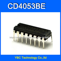 Free Shipping 50pcs/lot CD4053 CD4053BE HCF4053 HEF4053 DIP-16 Analog Switches CD Logic IC