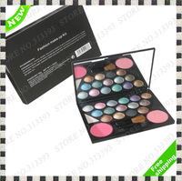 High Quality Cosmetic 15 Eyeshadow Palette Make-up 15 Colors Eye Shadow+2 Blush 2 Brow Pallete M2088-1 New in Box Kit Sets 1Pcs