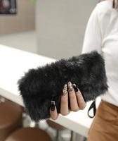 New 2014 Fashion Evening Bag Day Clutch Tote Bag Cosmetic Bag White Black Women's Handbag Free Shipping