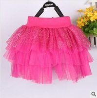 Free Shipping Casual Fashion Rayon Girls Skirt Baby Tutu Skirt Princess Fluffy Pettiskirts Ball gown Mini Skirt Beautiful skirt