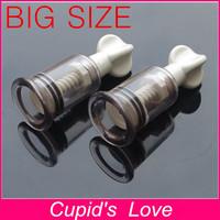 2PCS/LOT DIA: 2.8cm Nipple Pussy Clitoris Sucker Pump Stimulator Massager Sex Toy For Women Adult Product