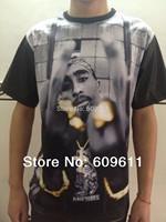 1991 INC. Memorial BIGGIE 2Pac .LOGO. Star. T-shirt . Brand HBA CROOKS DIAMOND Fashion shirt Supreme 2Pac FUCK 1991 inc Men Tee