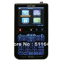 "WS 6922 Satlink WS-6922 3.5"" HD Satellite SAT Finder Signal Meter DVB-S DVB-S2 MPEG-4 High Performance"