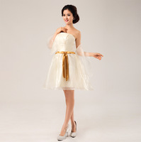 2013 white princess bridesmaid dress formal dress banquet evening dress formal dress