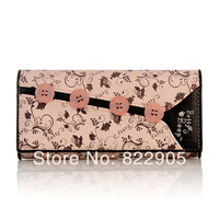 Famous Brand  BETTY BOOP female fashion long design wallet Casual card holder clutch wallet