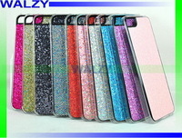 Luxury Glittery Flash Powder Electroplated Plastic Cover For IPhone 5c