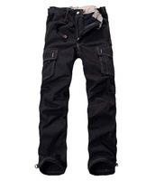 Free Shipping Men pants winter sports pants fleece thick long outdoor ski snowboard military tactical warm pants black big size