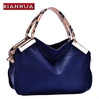 For EverU  2014 women's handbag fashion crocodile pattern women's handbag  messenger bag