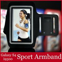 Sport Armband for Samsung Galaxy S4 I9500 Outdoor Sports Gym Jogging Cycling 2014 NEW mobile phone Accessories Free Shipping