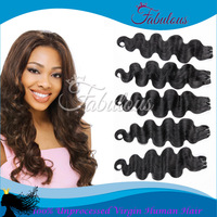 Queen Virgin Brazilian Hair 60g/pc New Star Brazilian Virgin Hair Body Wave Perfect Hair Extensions Free Shipping Glamme Hair