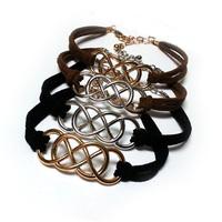 Double infinity revenge DIY bracelet 2014 new free shipping