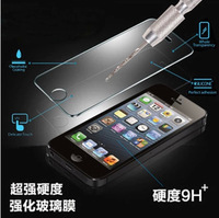 2014 new For iPhone 4 Premium Tempered Glass Screen Protector for iPhone 4 4sToughened protective film With Retail Package