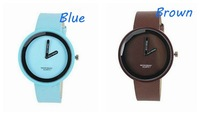 ISSEY MIYAKE quartz watch brief fashion watch fashion personalized belt candy color table 100PCS/Lot