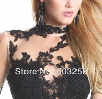 ACD17 Womens Queen Princess Black Tutu Party Dresses Tunic Lace Evening Wedding Prom Cocktail Dress Winter Girl Dress