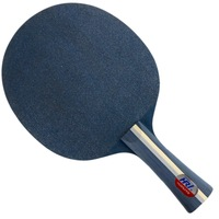 Free Shipping, HRT Blue Crystal Carbon (5 Wooden + 2 Crystal Carbon) Table Tennis Blade for Ping Pong Racket