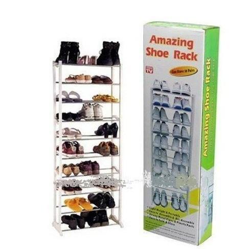 Christmas gift!!big promotion!!!free shipping!!!Amazing shoe rack 10 layer 20 pairs Free shippig(China (Mainland))