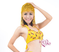 Belly dance tassel hat accessories props new arrival elastic