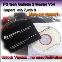 2014 HOT FGTech Galletto 4 Master BDM-TriCore-OBD  2014 Latest Version V54  Function FG Tech ECU Programmer with Multi-langauge
