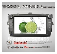 A6 8 inch  Toyota Corolla,dvd bluetooth  tv   gps  ipod dual zone PIP player support 1080P movie player