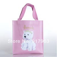 2014 Newest hot in Japan  pvd shipping  bag women handbag  fashionable  candy color pvc totes bags  free shipping
