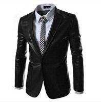t-shirt socks t-shirts coat men polo jeans jacket t shirt shorts casual dress Ebay male slim leather suit jacket x22