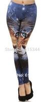 "2014 New Summer spring Fashion Black Milk Leggings ""Tiger"" Print Leggings limited Hell yeach bandana pants"