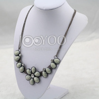 #616 Fashion Multi-color Flower Necklace Women Necklaces Wholesale 2014 Newest Free Shipping 3pcs/lot
