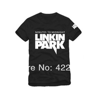 new 2014 spring 2014 Lovers men's clothing women's linkin park hiphop  short-sleeve T-shirt personality China's size S-XXXL