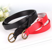 New 2014 Women PU Belt Fashion Colorful Belts For Women Wholesale Strap Free Shipping