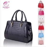 2014 New arrival women's fashion Crocodile pattern totes handbags Free shipping 3b13