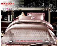 2014 Vintage new 3 style high quality Embroidery Sumptuous Tencel wedding Quilt sets for bed 143