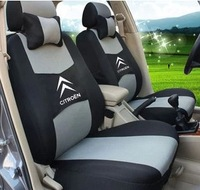 """Free Shipping+""""Generic Version"""" Seat Cover For CITROEN Elysee Picasso C3 C4 C4l C5 DS3 With Breathable Material+Logo+5 colors"""