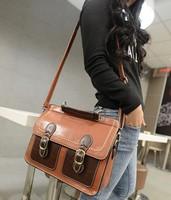 2014 spring deign,British vintage one shoulder messenger, fashion women's sling bag,casual joker hitcolor bag!