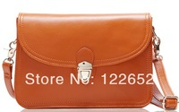 2014 Japan and South Korea popular envelope bag genuine leather motorcycle shoulder bag free shipping B-76
