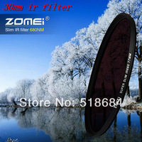 Wholesale ZOMEI 30mm Slim IR Filter 680nm Infrared Infra-Red for DV DSLR SLR Filters Optical Glass Camera Digital Accessories