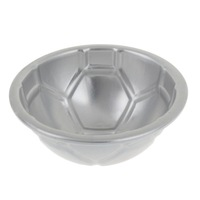 "(Mini order $10 )DIY 3.6"" Football Pattern Aluminum Alloy Cake Mold cake box  cake decorating tools"