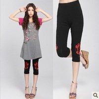 Women's new arrival 2013 national shorts trend knee-length pants capris female platterseleetion