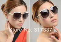 fashion sun glasses women brand designer 2014,UV400CE 100%UV protection, Imitation brand glare vintage sunglasses women with box