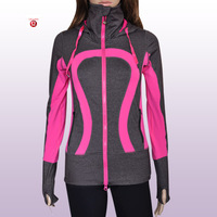 Wholesale 2013 LULULEMON STRIDE JACKET, Discounted Best Seller Lulu lemon Yoga Jacket/Outerwear/Sweater for Girls,Free Shipping