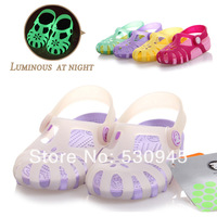 2014New ,Brand  Kids children's sandals ,7Colors 9Sizes Jelly Shoes slipers boys girls,wrapped top and hole side design,61129-9