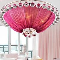 Modern ceiling light LED crystal ceiling light  E14