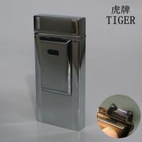 Tiger induction pulse usb charge electronic cigarette lighter windproof gift lighter