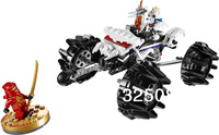 Bella Ninjago Nuckal ATV education building set, 9730,174 PCS children enlightenment toys, DIY puzzle toys