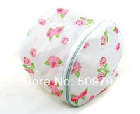 50pcs Printing bra laundry bag underwear wash protect bag bra cleaning bag bra laundry basket