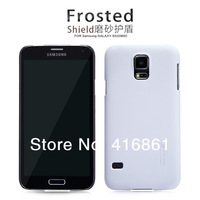 NILLKIN Super Frosted Shield Case For Samsung GALAXY S5 G900 With Screen Protector + Retailed Package + Free Shipping