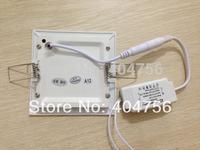 6W Square LED Panel Light  AC85-265V 540lm 50000Hrs 2835SMD