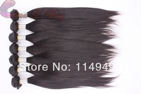Free Shipping 4pcs/lot Thick and Full could be dyed and bleached Unprocessed hair extension brazilian virgin straight hair